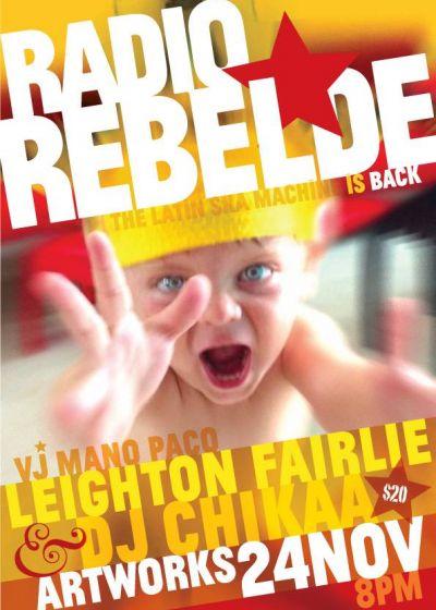 Radio Rebelde - The Latin Ska Machine Is Back!