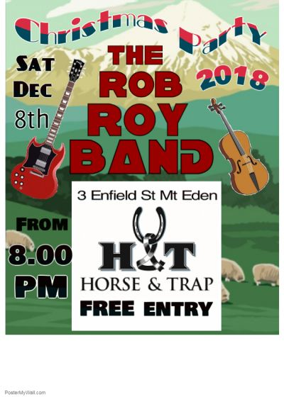 The Rob Roy Band Christmas Party 2018