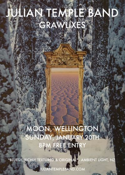 Julian Temple Band W/ Grawlixes