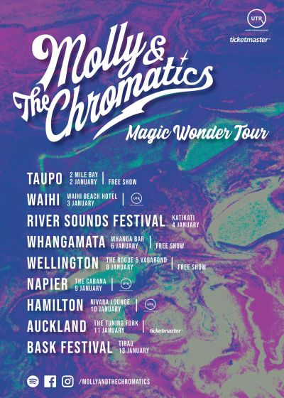 Molly And The Chromatics - Magic Wonder Tour