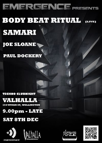 Emergence Presents - Samari and Body Beat Ritual