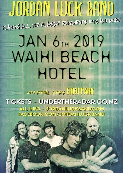 Jordan Luck Band - Waihi