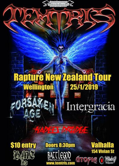 Temtris (AUS) NZ Tour