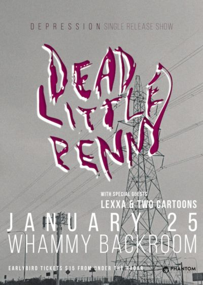 Dead Little Penny w/ Lexxa and Two Cartoons