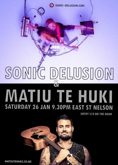 Matiu Te Huki, Sonic Delusion
