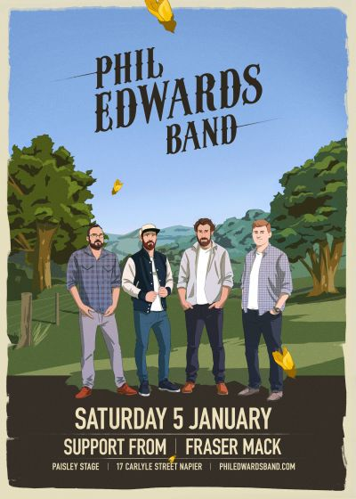Phil Edwards Band and Fraser Mack