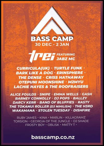 Bass Camp New Years Festival 2018/2019
