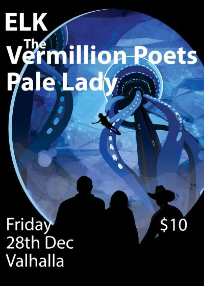 Elk, The Vermillion Poets And Pale Lady