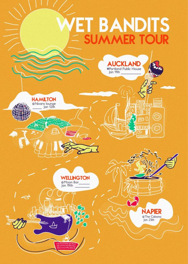 Wet Bandits 2019 Summer Tour