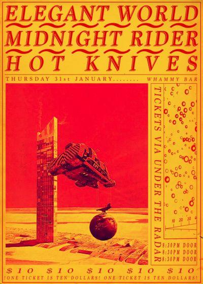 Hot Knives ~ The Elegant World ~ Midnight Rider