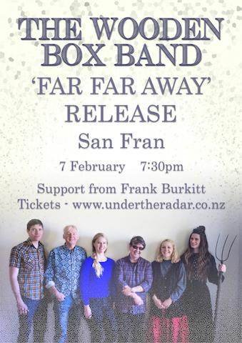 The Wooden Box Band 'Far Far Away' Release
