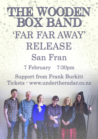 The Wooden Box Band 'Far Far Away' Release