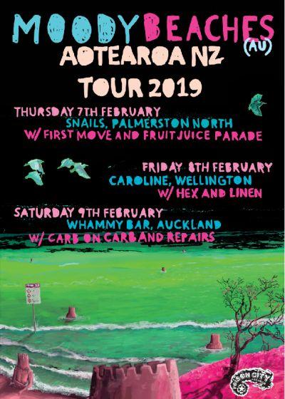 Moody Beaches (AU) Aotearoa Tour