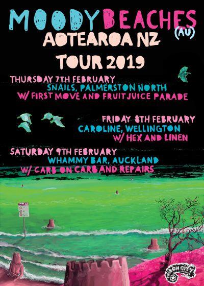 Moody Beaches (AU) Aoteara Tour
