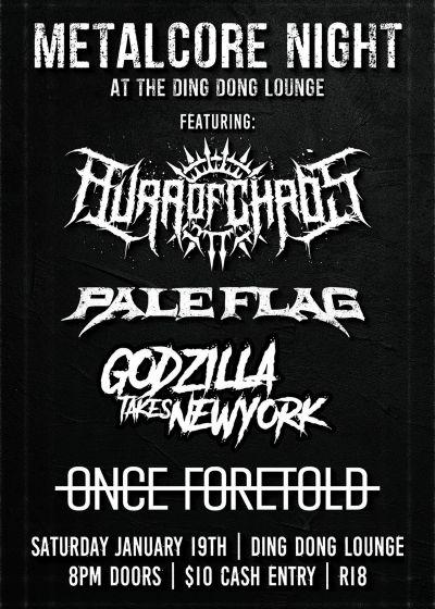 Metalcore Night at Ding Dong Lounge
