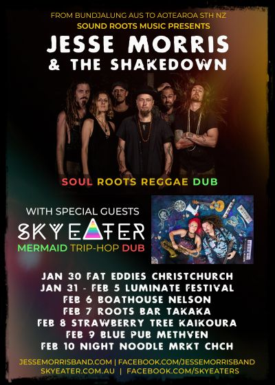 Jesse Morris And The Shakedown, Sky Eater