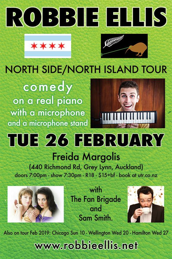 Robbie Ellis - North Side / North Island Tour