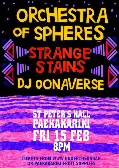 Orchestra Of Spheres / Strange Stains / Oonaverse