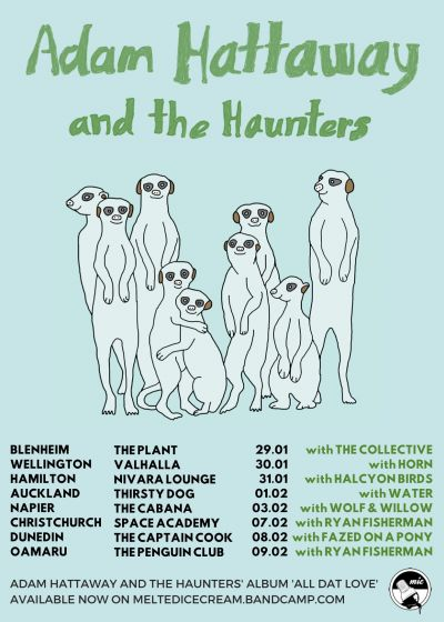 Adam Hattaway and The Haunters Tour