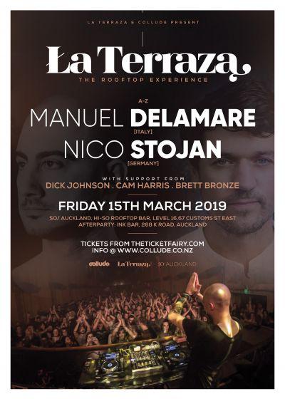 La Terraza ft. Manuel De La Mare (Italy) & Nico Stojan (Germany)