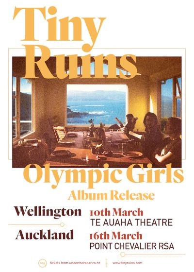 Tiny Ruins - Olympic Girls - Album Release