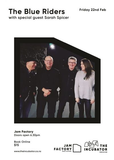 The Blue Riders with Sarah Spicer -Live at the Jam Factory