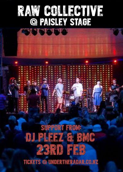 Raw Collective Live w/ DJ Pleez and Simloco