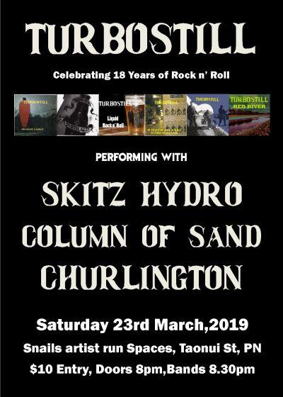 Skitz Hydro, Column Of Sand, Churlington