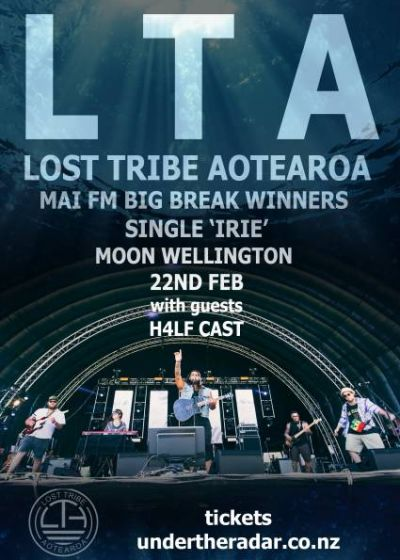 Lost Tribe Aotearoa + H4lf Cast