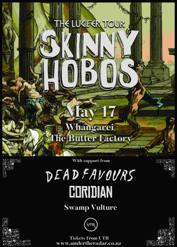 Skinny Hobos - The Lucifer Tour