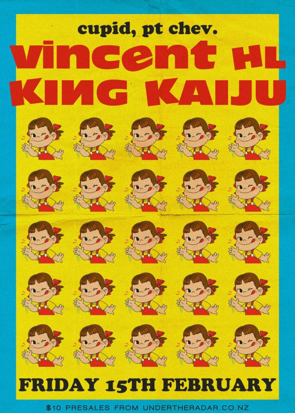 Vincent HL and King Kaiju