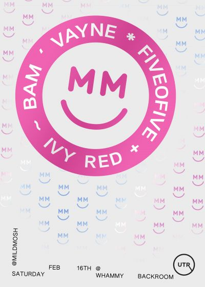 Mild Mosh Presents: Vayne, Fiveofive, Ivy Red and Bam