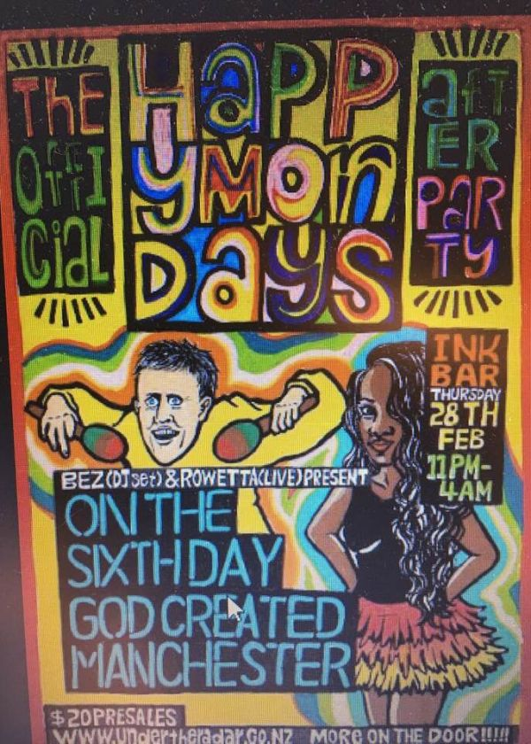 Happy Mondays Afterparty (Bez and Rowetta Dj Set)