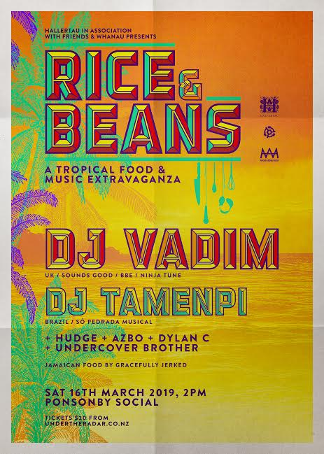 Rice and Beans With Dj Vadim