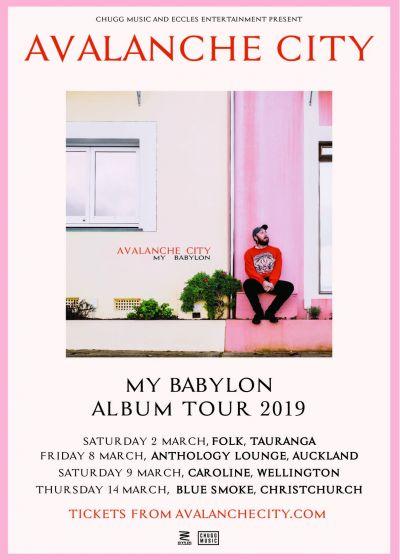 Avalanche City - My Babylon Album Tour (SOLD OUT)