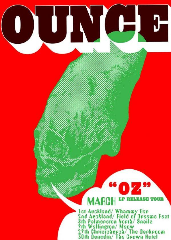 Ounce OZ LP Release Tour