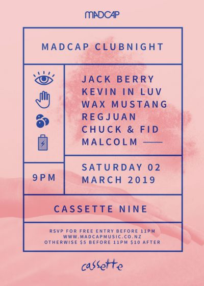 Madcap Clubnight: Jack Berry, Kevin In Luv, Wax Mustang and more