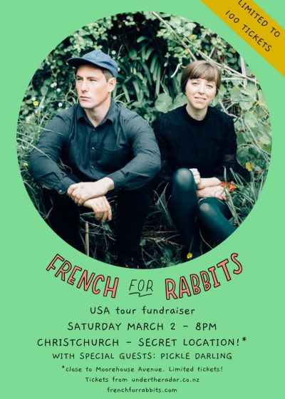 French For Rabbits - USA Tour Fundraiser