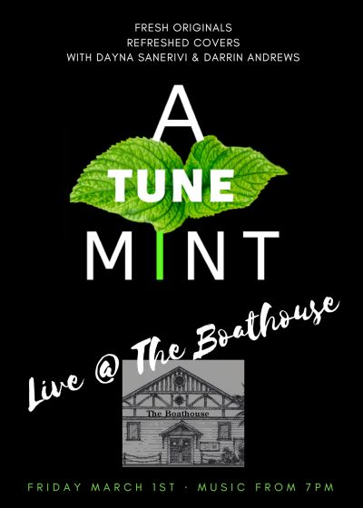 Dayna Sanerivi and Darrin Andrews present A Tune Mint- FREE EVENT
