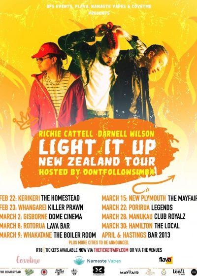 Light It Up - Richie Cattell, Darnell Wilson, Dominick
