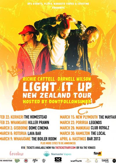 Light It Up - Richie Cattell, Darnell Wilson, TC Wairau