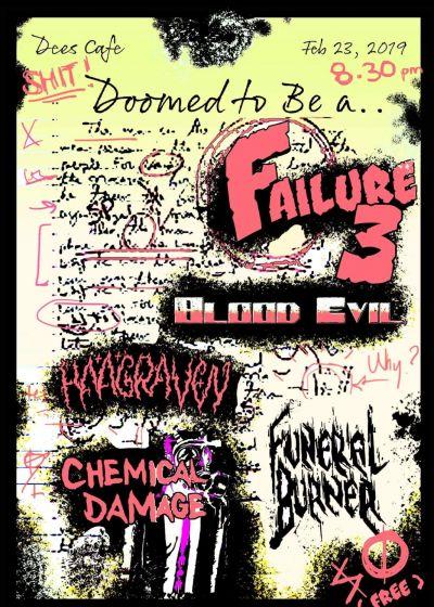 Blood Evil,  Haargven, Chemical Damage, Funeral Burner