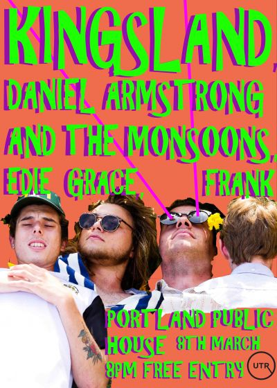 Kingsland, Daniel Armstrong and The Monsoons, Edie Grace and Frank