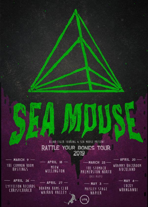 Sea Mouse 'Rattle Your Bones' Tour