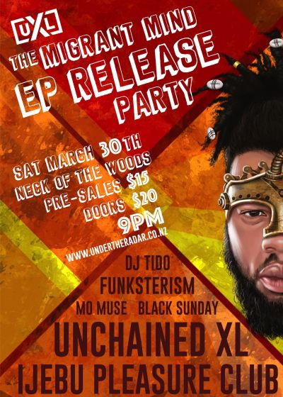Unchained XL 2019 EP Release Party