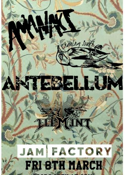 Antebellum, Amanaki, Chasing South And Element