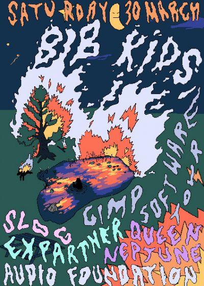 Bib Kids! Slog! Ex-partner! Queen Neptune!