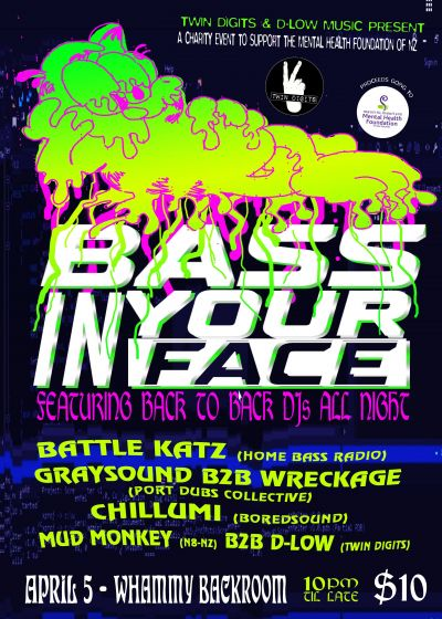 Bass In Your Face No.2 - A Charity Event In Support Of Mental Health