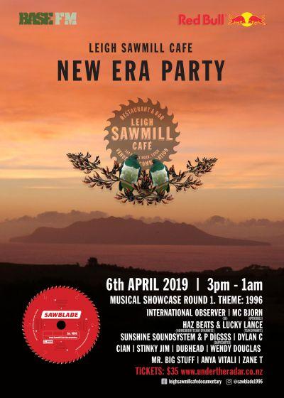 New Era Party and 'Sawblade' Fundraiser