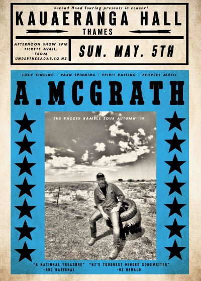 Adam Mcgrath Ragged Ramble Tour Thames (afternoon Show)
